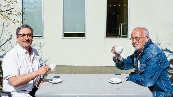 Dr Stappler & Daniel Coutaz